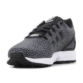 Sapatos Adidas Zx Flux Jr BY9828 preto 4