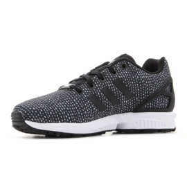 Sapatos Adidas Zx Flux Jr BY9828 preto 5