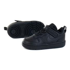 Sapatos Nike Court Borough Low 2 (TDV) Jr BQ5453-001 preto 1