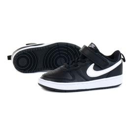 Sapatos NIke Court Borough Low 2 (TDV) Jr BQ5453-002 preto 1