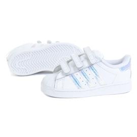 Tênis Adidas Superstar Cf I Jr FV3657 branco 1