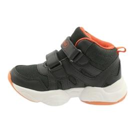 Sapatos infantis Befado 516X050 laranja cinza 2