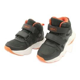Sapatos infantis Befado 516X050 laranja cinza 3
