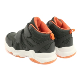 Sapatos infantis Befado 516X050 laranja cinza 5