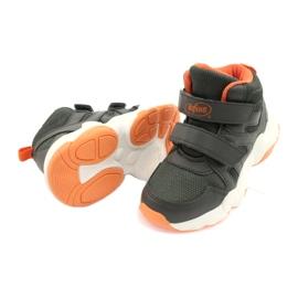 Sapatos infantis Befado 516X050 laranja cinza 4
