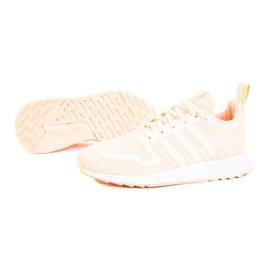 Sapatos Adidas Multix Jr Q47136 branco rosa 1