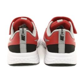 Sapato Nike Revolution 5 (PSV) Jr BQ5672-603 preto vermelho 6