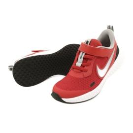 Sapato Nike Revolution 5 (PSV) Jr BQ5672-603 preto vermelho 3