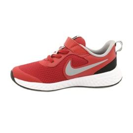 Sapato Nike Revolution 5 (PSV) Jr BQ5672-603 preto vermelho 1
