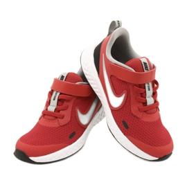 Sapato Nike Revolution 5 (PSV) Jr BQ5672-603 preto vermelho 4