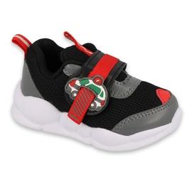 Calçados infantis Befado 516P096 preto vermelho 2
