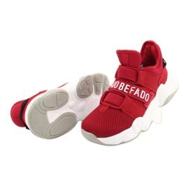 Calçados infantis Befado 516Y064 branco vermelho 5