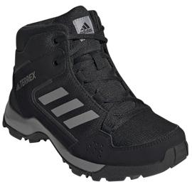 Sapatos Adidas Terrex Hyperhiker K Jr FX4186 preto azul marinho 1